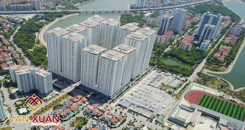 Những căn hộ chung cư nổi bật các quận tại Hà Nội
