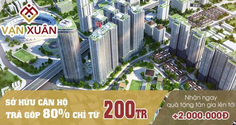 Nhận ngay Quà tặng tân gia 2.000.000VNĐ khi mua căn hộ tại BĐS Vạn Xuân